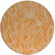 rug #770577 | round beige natural rug