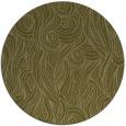 rug #770593 | round light-green rug