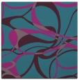 rug #771029   square pink retro rug