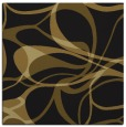 rug #771081 | square mid-brown retro rug