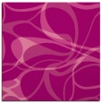 rug #771173 | square pink retro rug