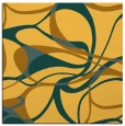 rug #771269 | square light-orange retro rug