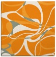 rug #771309 | square light-orange retro rug