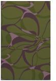 rug #771805    green retro rug