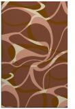 rug #771813 |  brown retro rug