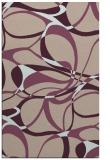 rug #771825 |  pink retro rug