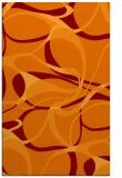 rug #771857 |  red-orange rug
