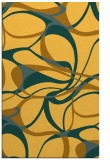 rug #771973 |  light-orange retro rug