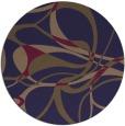 rug #772129 | round beige retro rug