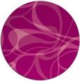 rug #772229 | round pink retro rug