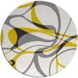 rug #772322 | round retro rug
