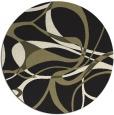 rug #772329   round black retro rug