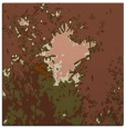 rug #772869 | square brown graphic rug