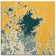 rug #773029 | square light-orange graphic rug