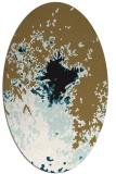 rug #773100 | oval graphic rug