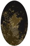 rug #773193 | oval black graphic rug
