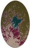 rug #773197 | oval graphic rug