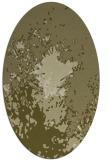 rug #773401 | oval light-green rug