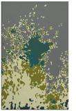 rug #773557 |  green abstract rug