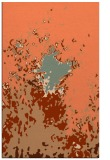 rug #773629 |  orange graphic rug