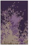 rug #773661 |  purple abstract rug