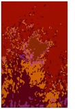 rug #773681 |  red abstract rug