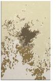 rug #773721 |  yellow abstract rug