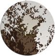 rug #773781 | round beige abstract rug