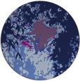 rug #773809 | round blue rug