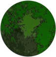 rug #773849 | round green abstract rug