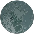 rug #773853 | round blue-green abstract rug