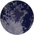 rug #773865 | round blue-violet abstract rug