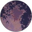 rug #773877 | round purple abstract rug