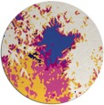 rug #773887 | round abstract rug