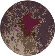 rug #774005 | round purple abstract rug