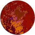 rug #774033 | round pink graphic rug