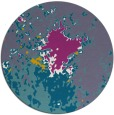 rug #774096 | round abstract rug