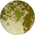 rug #774101 | round light-green abstract rug