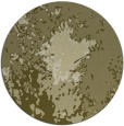 rug #774105 | round light-green abstract rug