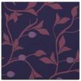 rug #776341   square blue-violet natural rug