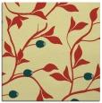 rug #776449 | square yellow natural rug