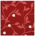 rug #776493 | square red rug