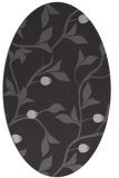 rug #776797 | oval red-orange natural rug