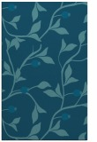 rug #777001 |  blue-green natural rug