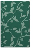 rug #777005 |  blue-green natural rug