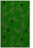 rug #777017 |  green natural rug