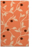 rug #777149 |  red-orange natural rug