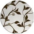 rug #777301 | round beige natural rug