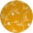 rug #777637   round light-orange rug