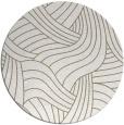 rug #781537 | round beige abstract rug